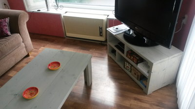 Steigerhouten Tv-Meubel