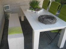 Steigerhouten Tafel/Tuintafel De  Luxe