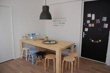 Steigerhouten Tafel Basis - Restauranttafels